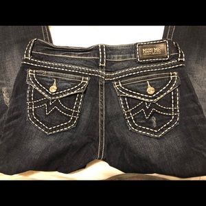 MISS ME size 31 Irene Boot distressed Jeans
